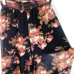 Anthropologie Pants - Anthropologie Elevenses Fire Lily Wide Leg Pants